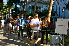 iPad Launch - Royal Hawaiian Apple Store