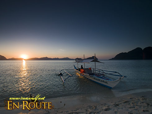 El Nido Ipil Beach 2 Sunset