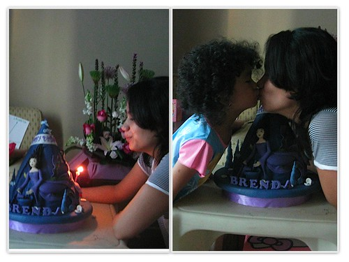 blow the candle & kiss