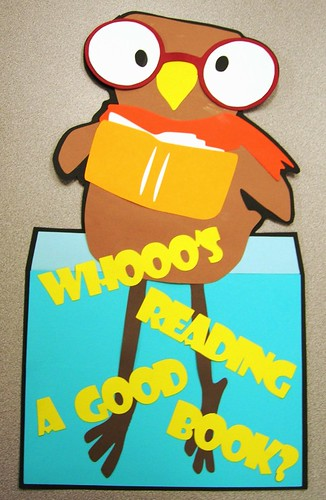 Whooo's Reading a Good Book?