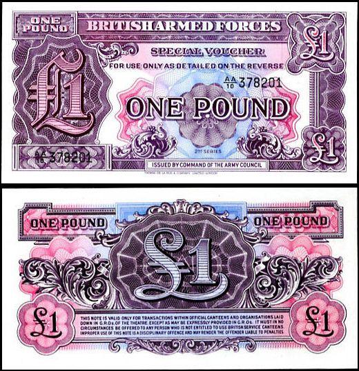 1 Pound Veľká Británia 1948, M22