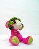 lamb1 (ElisabethD) Tags: pink flowers green wool toy doll stripes crochet plush softie fabric cotton stuffedanimal lamb amigurumi elisabethdoherty elisabethd bethd bethdoherty