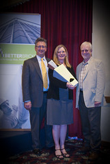 Left to right: Soct Davidson, NEEA; Deb Young, NorthWestern Energy; Peter Wilcox, NEEA - presenters at the 2011 Montana BetterBricks Awards (NEEA's BetterBricks Initiative) Tags: betterbricksawards northwesternenergy energyefficiencyawards