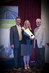 Left to right: Soct Davidson, NEEA; Deb Young, NorthWestern Energy; Peter Wilcox, NEEA - presenters at the 2011 Montana BetterBricks Awards (NEEA's BetterBricks Initiative) Tags: betterbricksawards northwesternenergy energyefficiencyawards