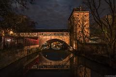 Nuremberg (hoppla007) Tags: nürnberg nuremberg franken germany deutschland pegnitz bridge brücke nacht night