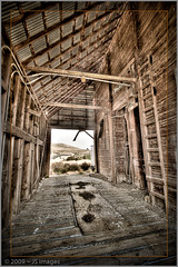 Grain Elevator (johny~) Tags: wood old oregon canon wheat farming elevator grain multipleexposure agriculture hdr lightroom 30d efs1022mmf3545usm heppner morrowcounty johny~