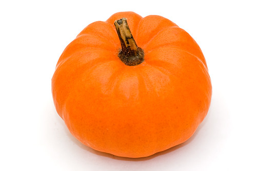 Stock Pumpkin on white background #2