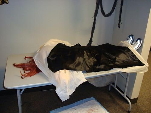 Corpse on Gurney