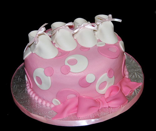 baby shower cake ideas for girls. The second cake was for a aby