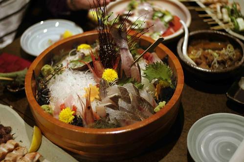 Live Sashimi
