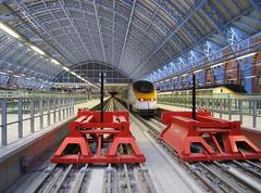 St Pancras International Station (DaveAFlett) Tags: london tube undergound eastlondon eastlondonline