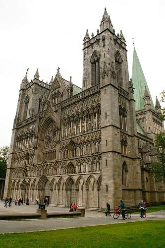 Trondheim: Nidaros Cathedral por Lucio José Martínez González.