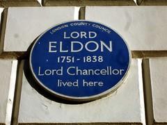Photo of John Scott blue plaque