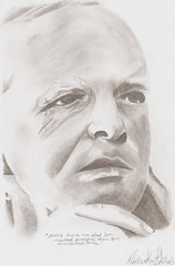 truman capote drawing (matthewphillipsart) Tags: portrait pencil drawing matthew phillips knox truman capote