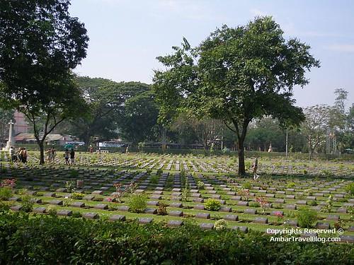 Kanchanaburi War Cemetary, River Kwai