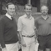 Professor Eric Colhoun, David Lowe and Graeme McIntyre (wine study scholarship), the University of Newcastle, Australia - 1986