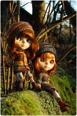 Kozy twins Pomme & Dandelion ^.^