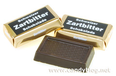 Chocolate Swiss Zartbitter Chocolate Squares