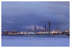 Cold (Reografie) Tags: longexposure nightphotography plant haven industry water night port flow ellen rotterdam ship natural harbour smoke nederland storage steam gas container fue pollution bluehour rabbits avond refinery liquid industrie por maasvlakte chemical nachtfotografie nightpictures botlek europoort petrochemical avondfotografie portofrotterdam gasunie petrochemie nibbie reografie gasrefineries