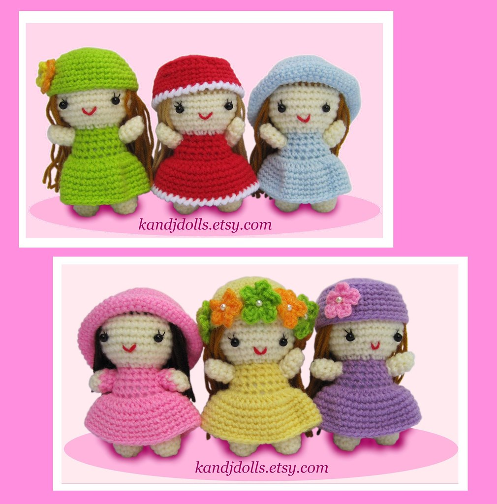 Amigurumi Doll Anleitung : The world s best photos of amigurumi and anleitung