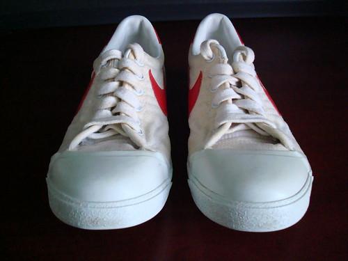 vintage shoes nike canvas