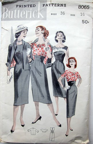 Vintage Butterick 8065 3-Piece Outfit