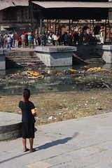 Too young to understand (stevefhobbs) Tags: nepal people girl river temple death looking mourning crowd watching young funeral kathmandu nepalese too onlooking plinth pyre nepali pashupatinath understand onlooker mourners