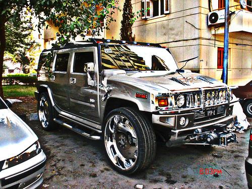 Iswahyudi Hummer 30 Inch Rims