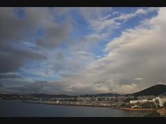 Evolucin de una tormenta (Pepe Rosell) Tags: storm clouds island mar mediterranean mediterraneo ibiza cielo nubes tormenta eivissa mediterranee santaeulalia ibizaisland