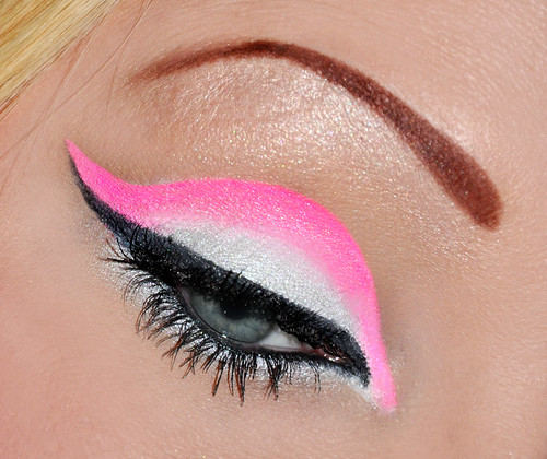Close up Super Pink Neon