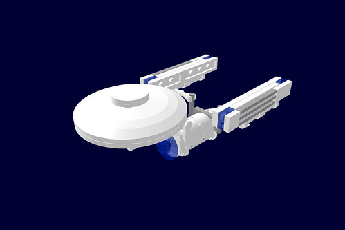 Micro Scale Uss Enterprise A Lego Creation By Hga Photo Mocpages