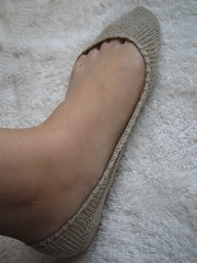 Cotton-Linen Foot cover