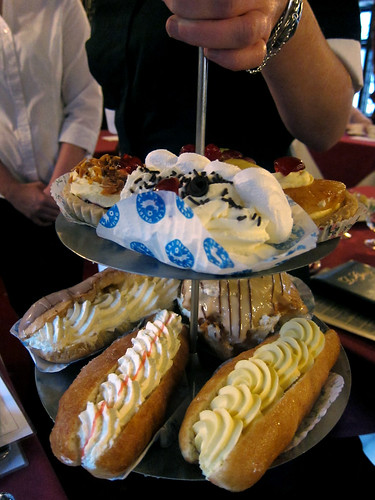 The pastry tray
