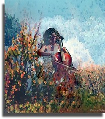 cello of love (Franco Gallo/ detto il PintoGrafo) Tags: cello violoncello francogallo josephinevanlier pintografo