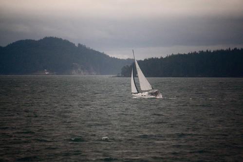 ocean cliff sailboat islands boat ship gulfislands penderisland straitofgeorgia salishsea georgiastrait southerngulfislands