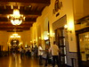 The lobby of the Hotel Nacional.