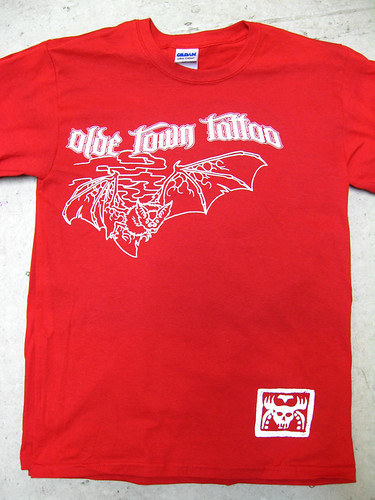 Another Olde Town Tattoo tee by king.screen