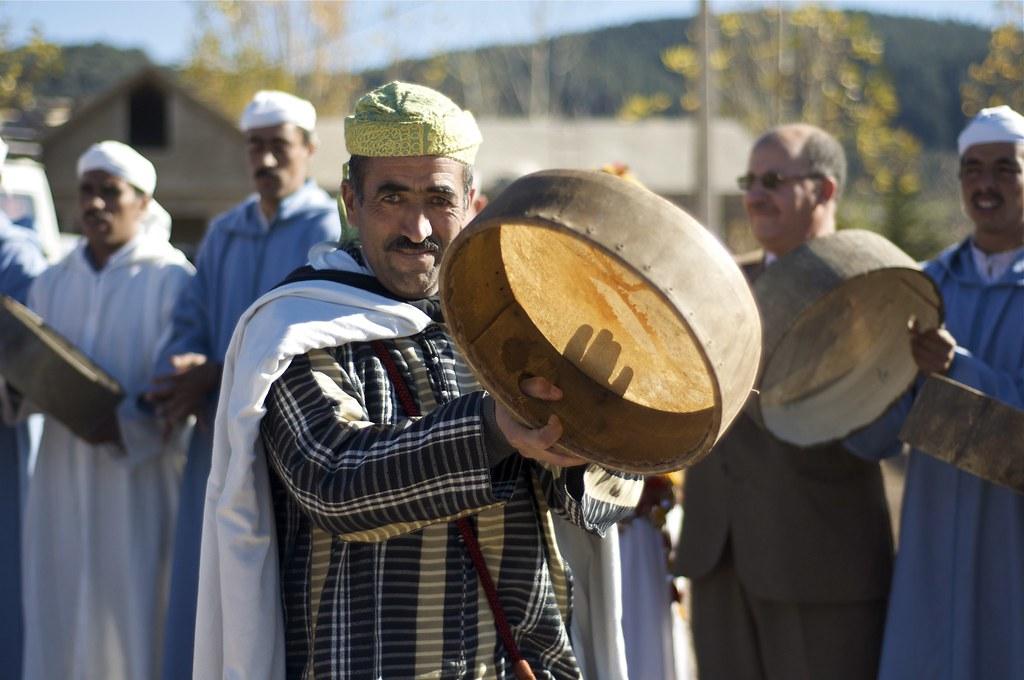Danzas amazigh/ berebere
