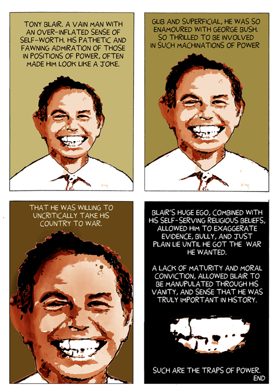 Tony Blair Strip
