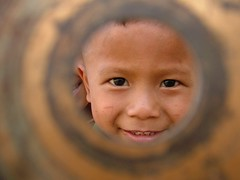 5 year old orphan (Paul Underwood2010) Tags: poverty street boy cute boys smile kids youth children happy kid support asia cambodia aids earth profile poor help rubbish safe tough seller sponsor collector donate earthasia