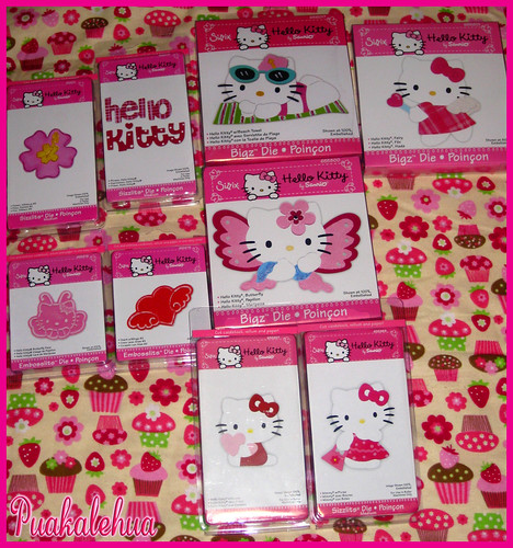 Sizzix Hello Kitty Dies & Embosslits