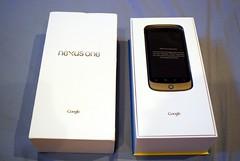 Opened - Google Nexus One