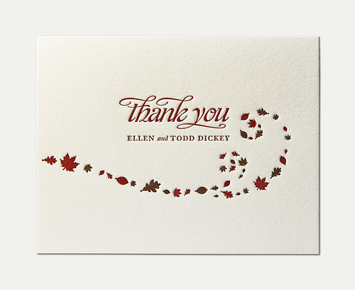 E&T Thank You Card
