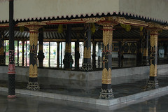 Reception area at the Kraton (Sultan's Palace)