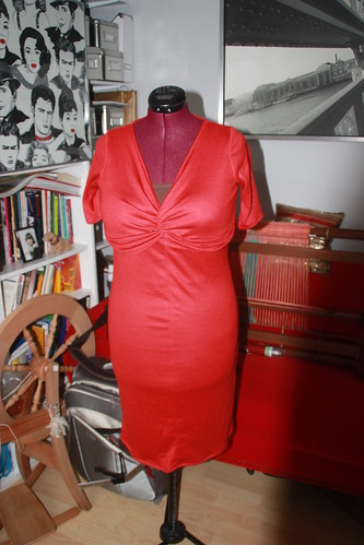 Twist-top dress