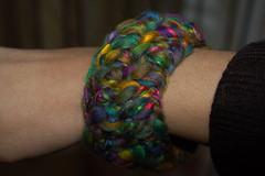 creazioni betta 012 (elisabetta mastrosimone) Tags: lana braccialetto alluncinetto