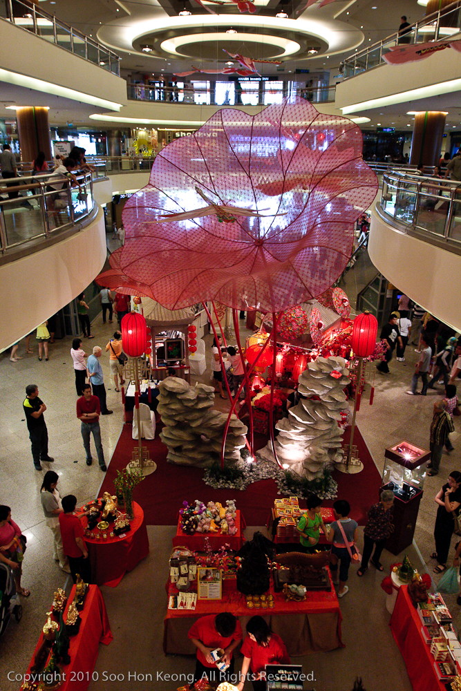 Chinese New Year Decoration @ Mid Valley, KL, Malaysia