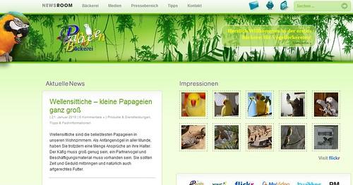 Papageien Bäckerei - Social Media Newsroom