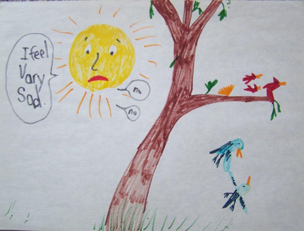 1st grade 14 Vary sad sun!