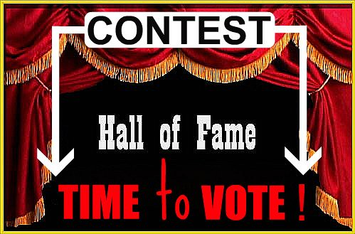 HOF - Contest Time to Vote